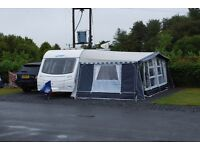 ISABELLA OPUS 3 METRE WIDE AWNING CARBON X POLES.
