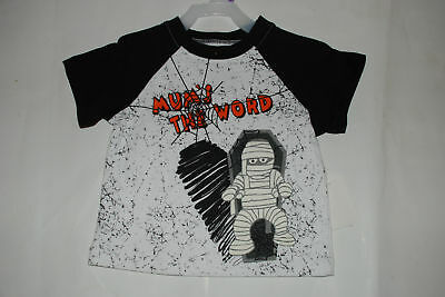 NEW Halloween top shirt size 12 months Mum's the word costume mummy 1 year old