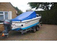 shetland family four boat