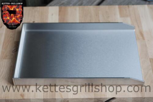 Edelstahl Grillplatte Für Gasgrill : Edelstahl plancha grillplatte für weber genesis ii 480 x 3 in