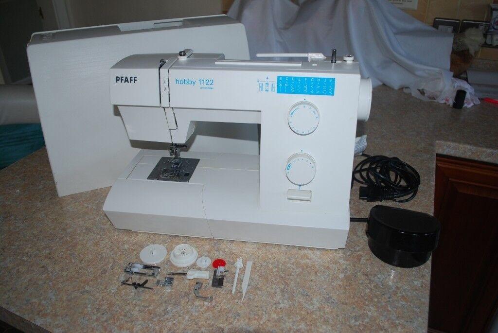 Pfaff 40 Mint Condition Heavy Duty Sewing Machine In Ravenshead Interesting Pfaff Hobby 1122 Sewing Machine