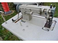 Joy's top and bottom feed Walking Industrial sewing Machine (FOR UPHOLSTERY> HANDBAGS< DOG COLLARS