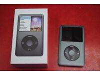 Apple iPod Classic 160GB 6th Gen Black Boxed £170