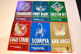 6 Book Alex Rider Box set- Anthony Horowitz
