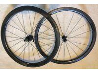 ENVE SES 3.4 CARBON CLINCHER WHEELSET (wheels, skewers, freehub, pads)_NEW!!