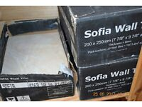 Beige Sofia Wall tiles approx 2.5 boxes