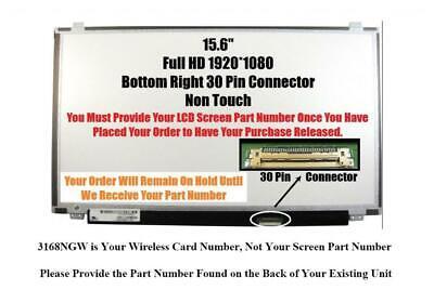 HP 15-R052NR Laptop Screen 15.6 SLIM LED BOTTOM RIGHT WXGA HD
