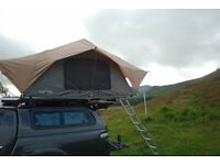 Front Runner Roof Tent Overland Camping Truck 4x4 RENTAL
