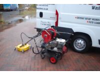 Honda 3000 psi 21lts petrol power washer and 18 inch whirl away