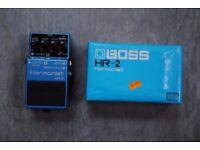 Boss Harmonist HR-2 Guitar Pedal Blue £150