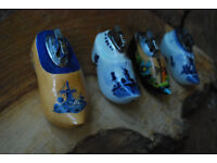 Vintage Clog Shaped Table Lighters x 4 GWO