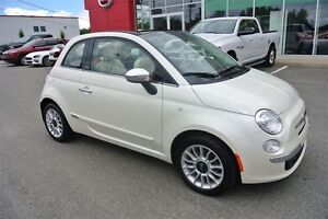 2013 Fiat 500C LOUNGE*CONVERTIBLE*CUIR*MAGS
