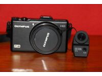 Olympus XZ-1 Digital Camera and VF-2 Electronic viewfinder