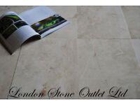 Crema Roma Polished Marble Tiles 61x30cm (27m2 JOB LOT DEAL)