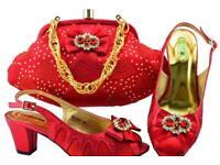 Italian Bag and shoe set