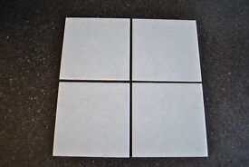 Spanish White Rumbomar Tiles 150mm x 150mm