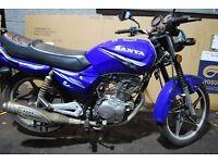Sanya 125cc Commuter Bike, FULL YR MOT **RIDE AWAY TODAY**