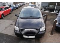 56 PLATE BLACK CHRYSLER GRAND VOYAGER 2006 Automatic STOW & GO NEW MOT LEATHER HEATED SEATS EXTRAS