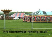 Hire Temporary Fencing Sets 50p per week! Buy for £24 per set