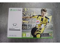 Xbox One S 500GB FIFA 17 Pack Brand New Factory Sealed £180