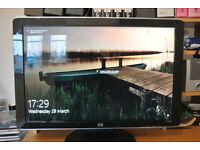 HP 24 inch monitor