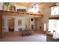 Beautiful converted stone barn in tranquil french village for holiday lets 2 bed / 2 bath