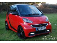 SMART FORTWO 1.0 GRANDSTYLE [SPECIAL EDITION] MHD AUTO [71 BHP] (red) 2014