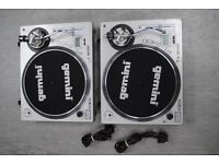 Gemini PT 2400 Pair of Vinyl Deck £250