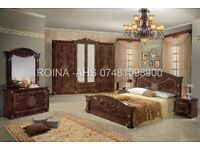 PREMIUM ITALIAN COMPLETE BEDROOM FURNITURE 6 DOORS SPECIAL DEAL