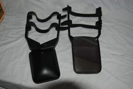 Pair of towing mirrors universal fit used once