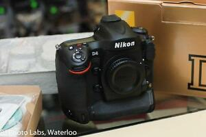 Nikon D4 body, with 55k actuations