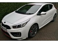 Kia pro ceed GT warranty until 2020