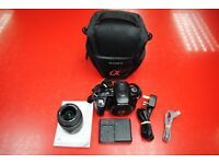 Sony A580 DSLR Camera with 18-55mm Lens and Carry Case £240