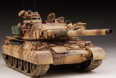 Award Winner Built Meng 1/35 AMX-30B2 Main Battle Tank + PE
