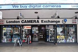 Sales assistant required for Photographic retail store.