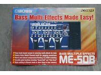 Boss ME-50B Bass Multiple Effects £210