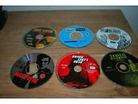 PC CD-ROM games bundle - Tomb raider Grand Theft Auto 1 and four others