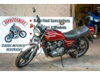Kawasaki z750 project , many more available runner to basket cases, px possible,