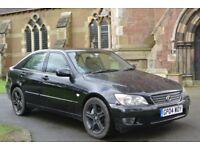 lexus is200 black 57k electric seats sport wheels