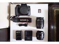 Canon EOS 550D DSLR Bundle - Good as NEW
