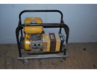 240v and 110v petrol site generator