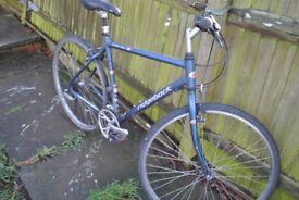 "Ridgeback Velocity 21"" Hybrid Bike - Blue"