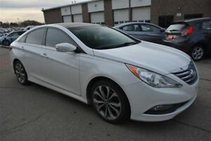 2014 Hyundai Sonata SE/HEATED LEATHER SEATS/PANO ROOF/CAMERA/BLU