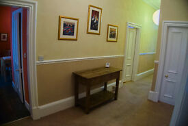 Highly desirable 2 bedroom fully furnished large main door flat in superb city centre location