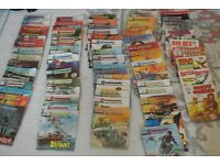 63 vintage collectable commando comics plus others