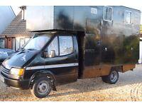 Ford Transit 3.5t Horsebox
