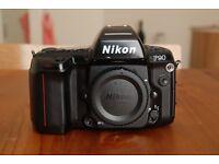 Nikon F90 35mm SLR - Spares or Repairs