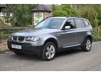 BMW X3 DEISEL MANUAL 81,000 MILES FSH