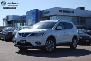 2016 Nissan Rogue SV, AWD, LOW KM'S, ONE OWNER, NO ACCIDENT