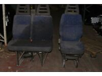 IVECO Daily van seats